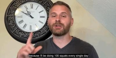 男性每晚100个深蹲有什么好处?