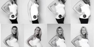 怀孕23周,肚子会有多大?