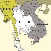 越南地图为什么要把老挝和柬埔寨画进去?