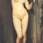 如何赏析法国古典主义画家安格尔的油画《泉》?