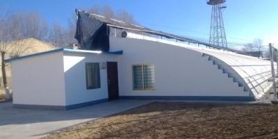 如何在农村建成本低的暖棚?